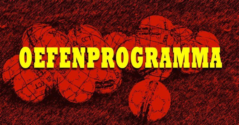 Voorprogramma en oefenwedstrijden .