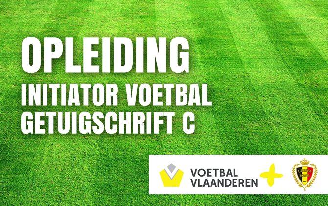 Opleiding initiator voetbal – getuigschrift C