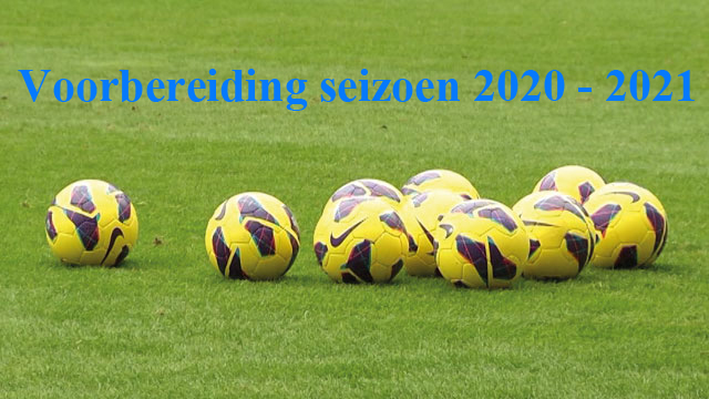 Voorbereiding seizoen 2020-2021